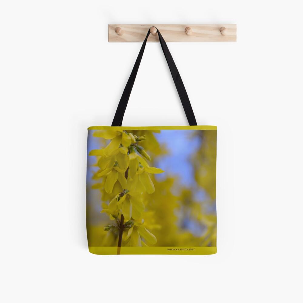 Yellow flowers near the Talvera River, Bolzano/Bozen, Italy Tote Bag