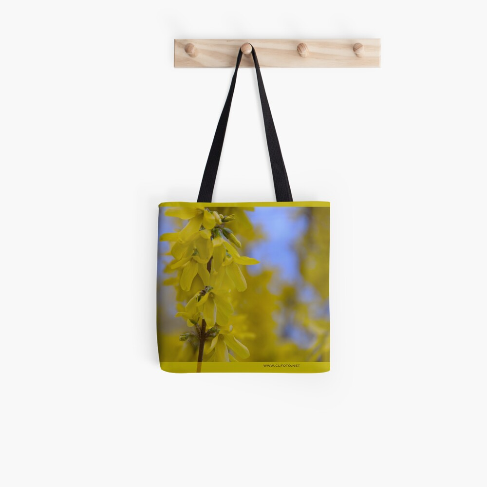 Yellow flowers near the Talvera River, Bolzano/Bozen, Italy Tote Bag