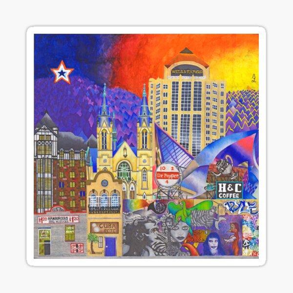 Downtown Roanoke by Brook Ludy Sticker