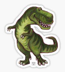 Animal Parade Tyrannosaurus Silhouette Sticker