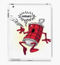 Spider-can iPad Case/Skin