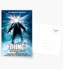 The Thing Postcards