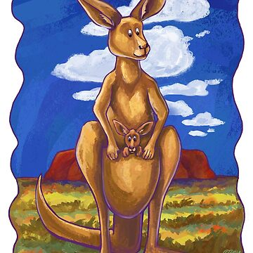 Animal Parade Kangaroo by ImagineThatNYC