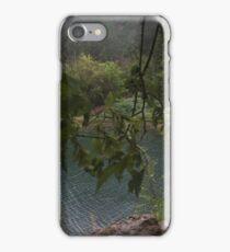 On top of hanging lake iPhone Case/Skin
