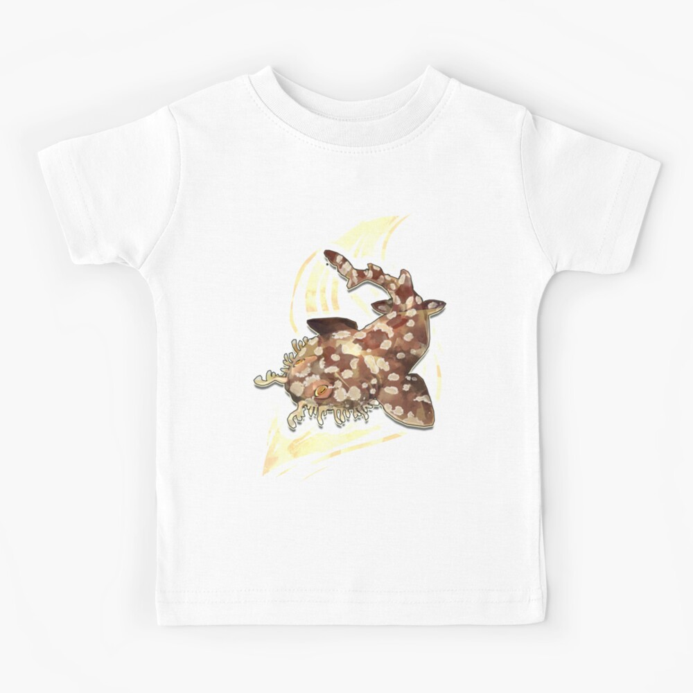 Tiburón Wobbegong Camiseta para niños