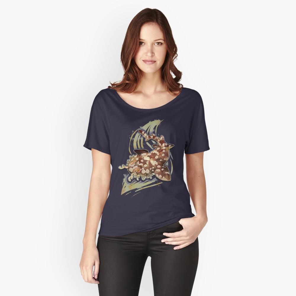 Tiburón Wobbegong Camiseta ancha