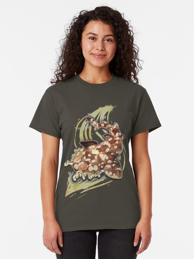 Vista alternativa de Camiseta clásica Tiburón Wobbegong