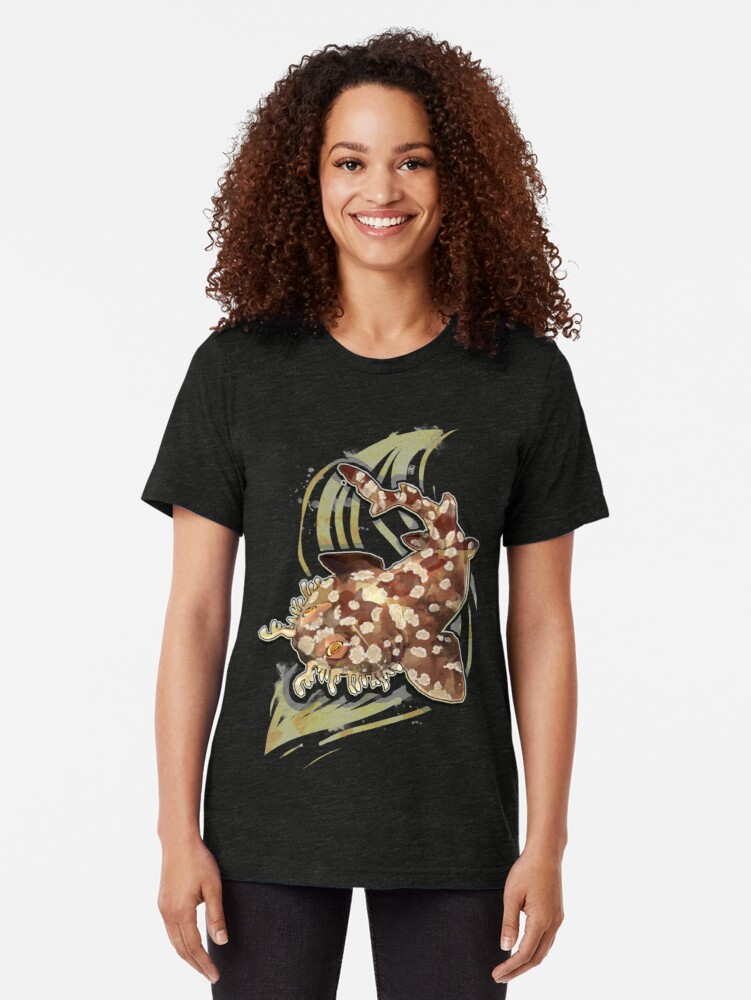 Vista alternativa de Camiseta de tejido mixto Tiburón Wobbegong