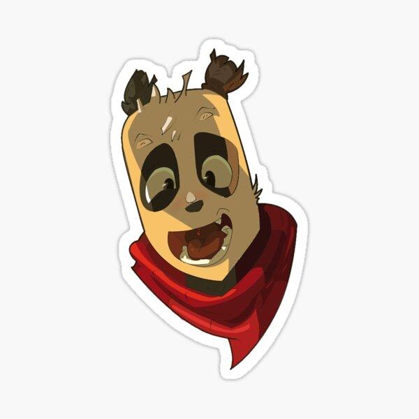 Pandawa Dofus Sticker