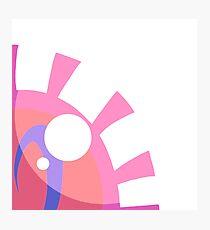 Pink Eye Photographic Print