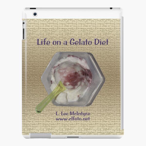 Life on a Gelato Diet iPad Snap Case