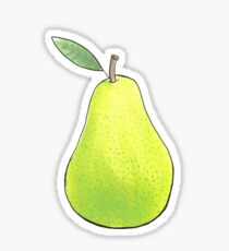Pear Sticker