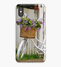 Blooming Bicycle iPhone Case/Skin