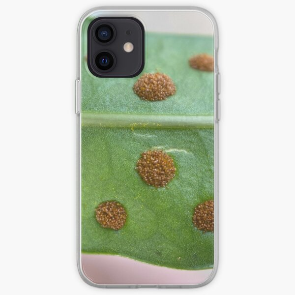 Golden Polypody Leaf iPhone Soft Case