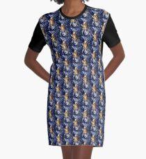 Queen Alice Graphic T-Shirt Dress