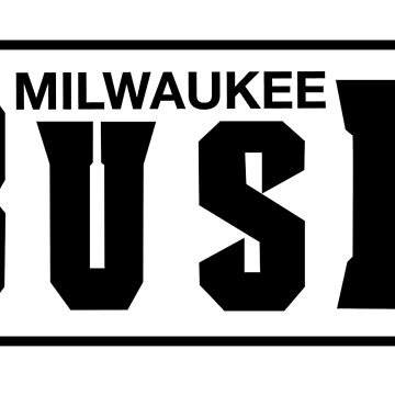 Milwaukee Busk by PIECE MIL by saneartworks