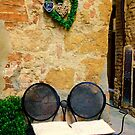 Bench in Montepulciano by Barbara  Brown