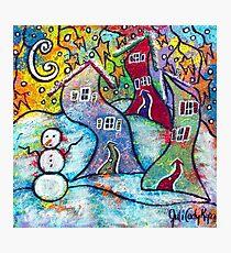Wonderfully Wacky Winter Photographic Print