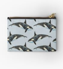 Orca on blue Studio Pouch