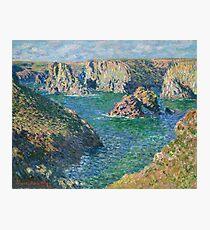 Claude Monet - Port Donnant Belle Ile Photographic Print