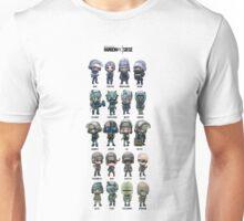 Rainbow Six Siege Chibi's Unisex T-Shirt