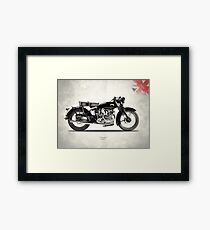 The Series C Comet Framed Print