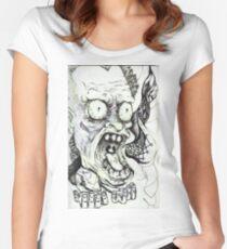 """Deranged""  Women's Fitted Scoop T-Shirt"