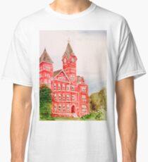 ee7836ba8d29 Samford Hall Auburn University Alabama Water Color Acrylic Classic T-Shirt