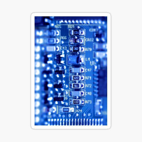 Circuit Board Sticker