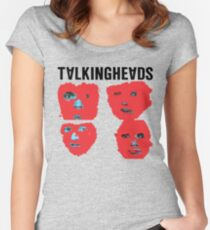 Talking Heads - Remain in Light Women's Fitted Scoop T-Shirt