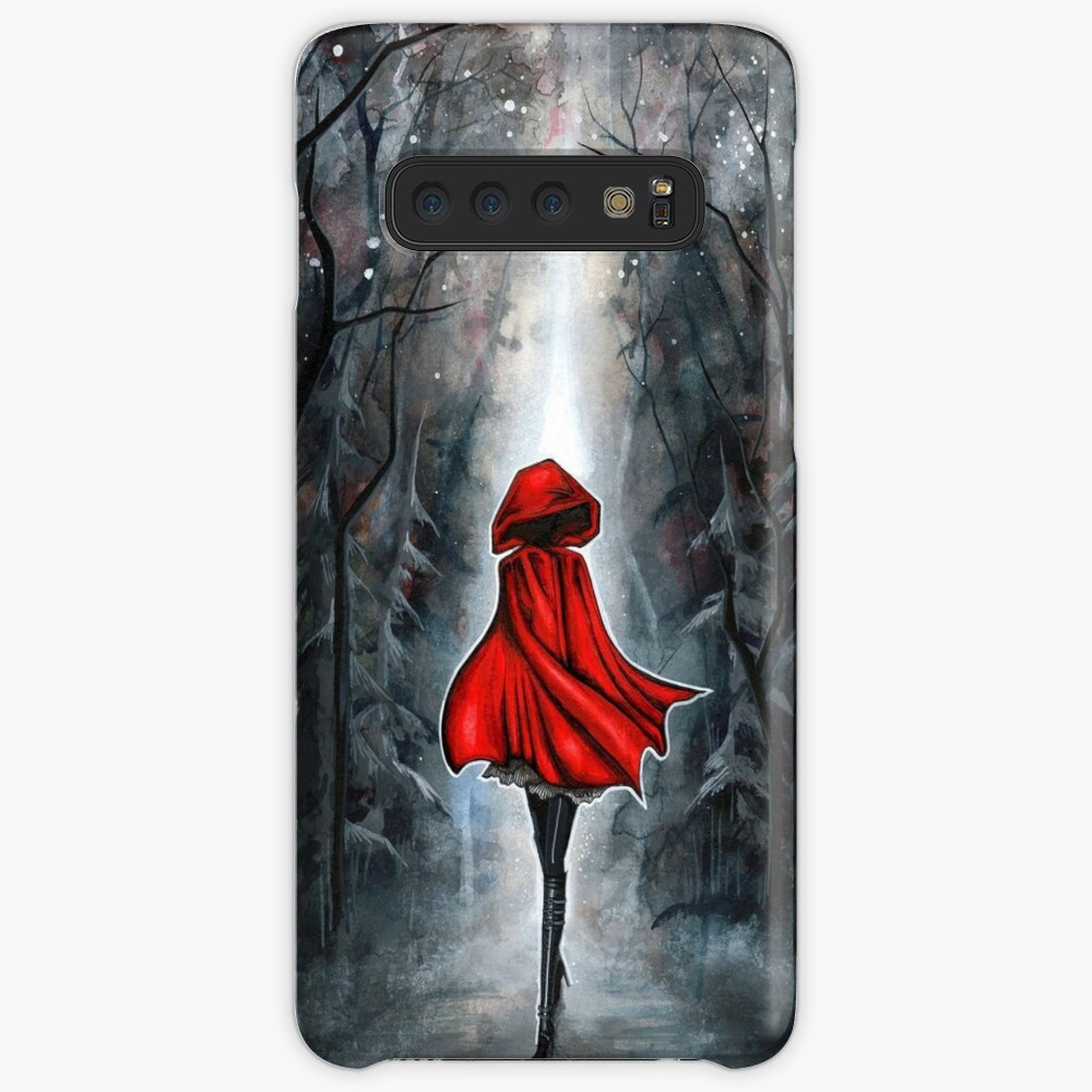 Little Red Riding Hood Case & Skin for Samsung Galaxy