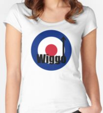 Wiggo Mod Women's Fitted Scoop T-Shirt