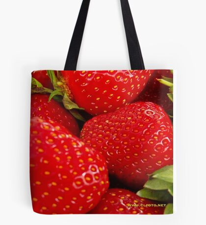 Strawberries! Bolzano/Bozen, Italy Tote Bag