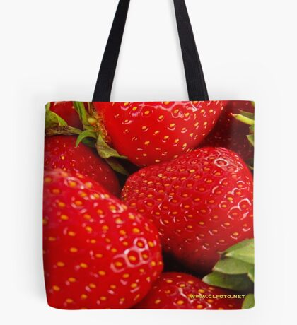 Strawberries! Bolzano/Bozen, Italy Tote Bag