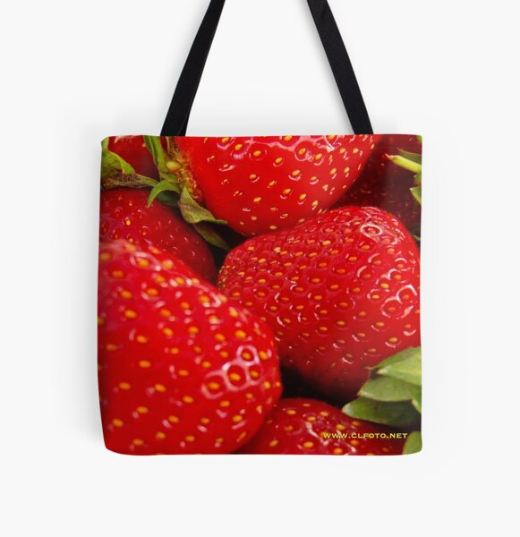 Strawberries! Bolzano/Bozen, Italy All Over Print Tote Bag