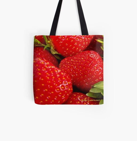 Strawberries! Bolzano/Bozen, Italy All Over Print Tote Bag