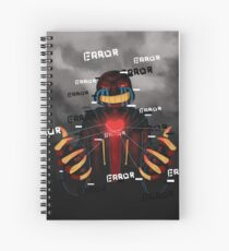 ERROR Sans - Undertale Spiral Notebook
