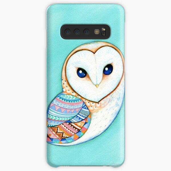 Tribal Pattern Barn Owl Samsung Galaxy Snap Case