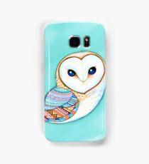 Tribal Pattern Barn Owl Samsung Galaxy Case/Skin