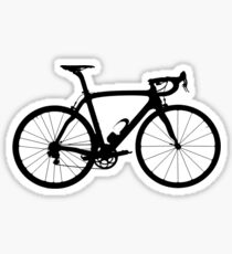 Bike Black (Big) Sticker