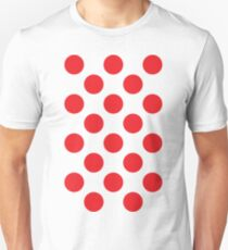 Red Polka Dot (King of the Mountains) Slim Fit T-Shirt