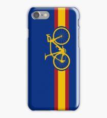 Bike Stripes Spanish National Road Race iPhone Case/Skin