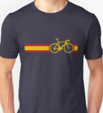 Bike Stripes Spanish National Road Race T-Shirt