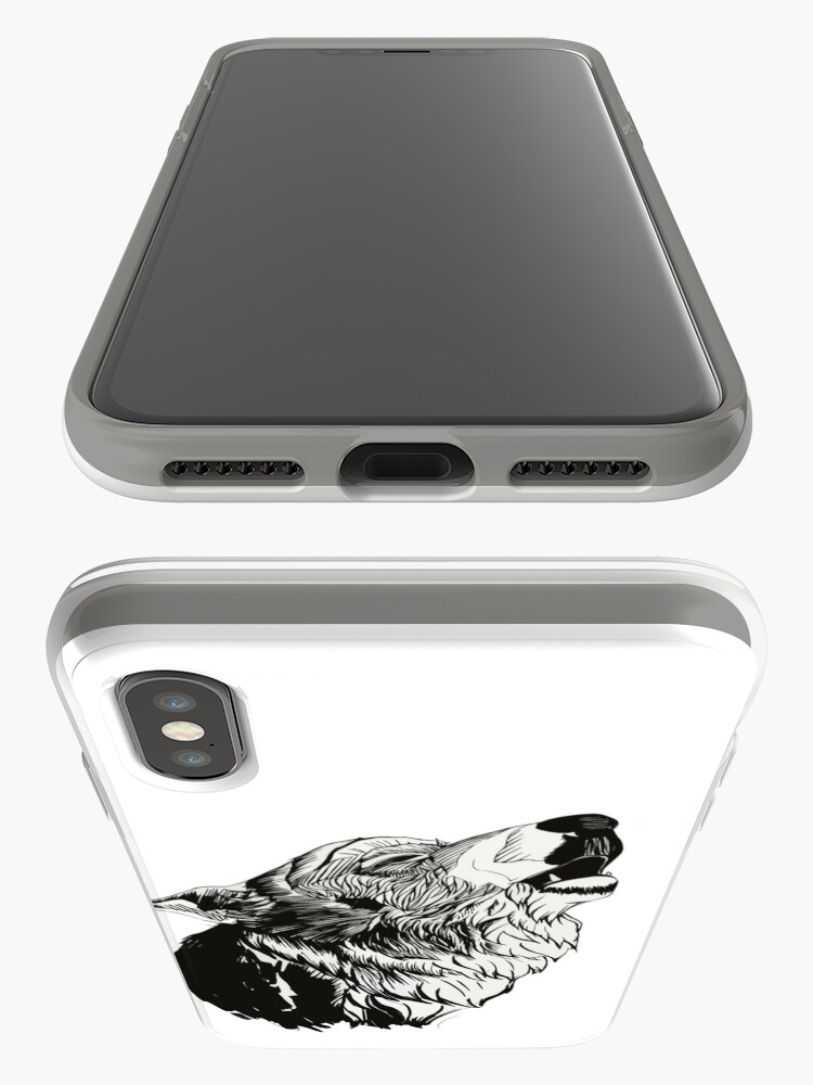 Alternate view of And the moon howled iPhone Case & Cover