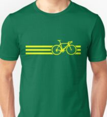 Bike Stripes Yellow T-Shirt