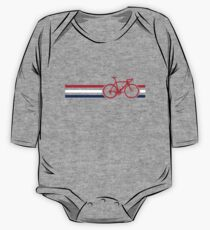 Bike Stripes British National Road Race v2 One Piece - Long Sleeve