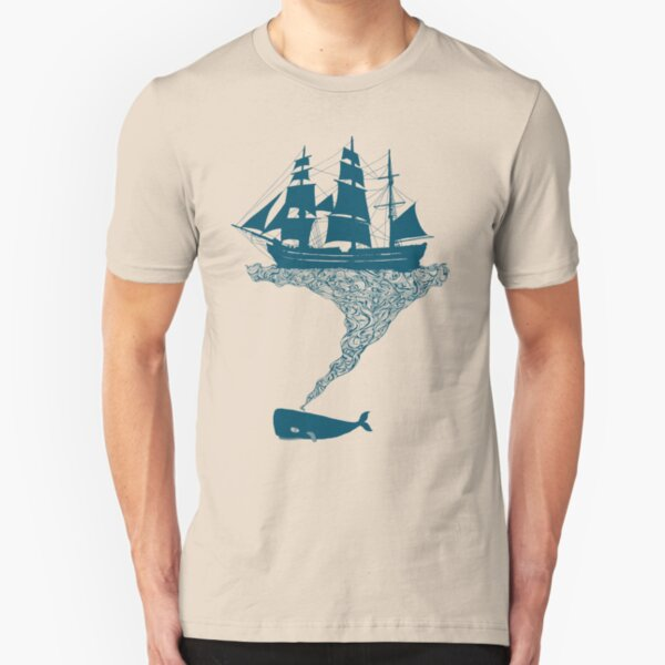 Exhaling flotsam Slim Fit T-Shirt