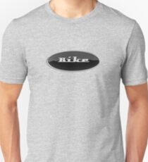 Bike (Retro Emblem) Unisex T-Shirt