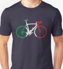 Bike Flag Italy (Big) T-Shirt