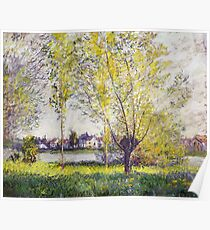 Claude Monet - The Willows Poster